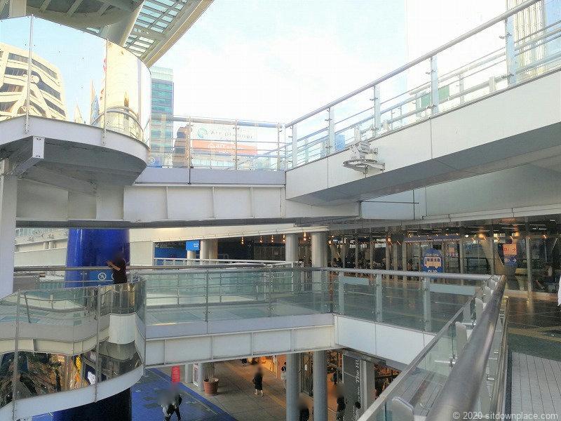 栄駅オアシス21バスターミナル前までの経路