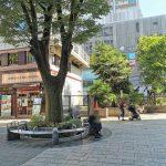 【武蔵小杉駅】北口ロータリー前の休憩場所