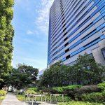 【武蔵小杉駅】タワープレイス公開空地の休憩場所