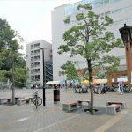 【東武宇都宮駅】バンバ広場の休憩場所