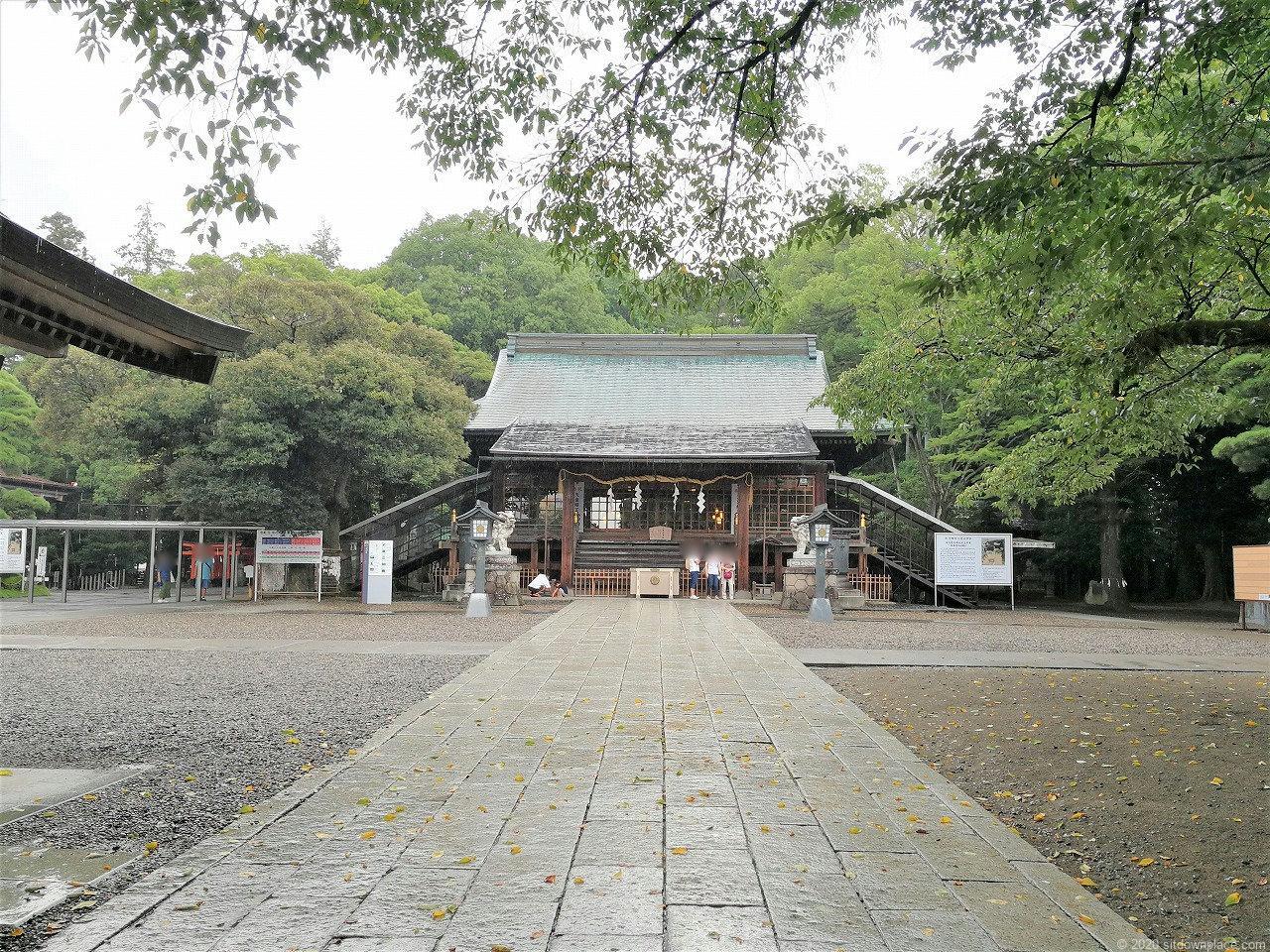 東武宇都宮駅 二荒山神社の外観