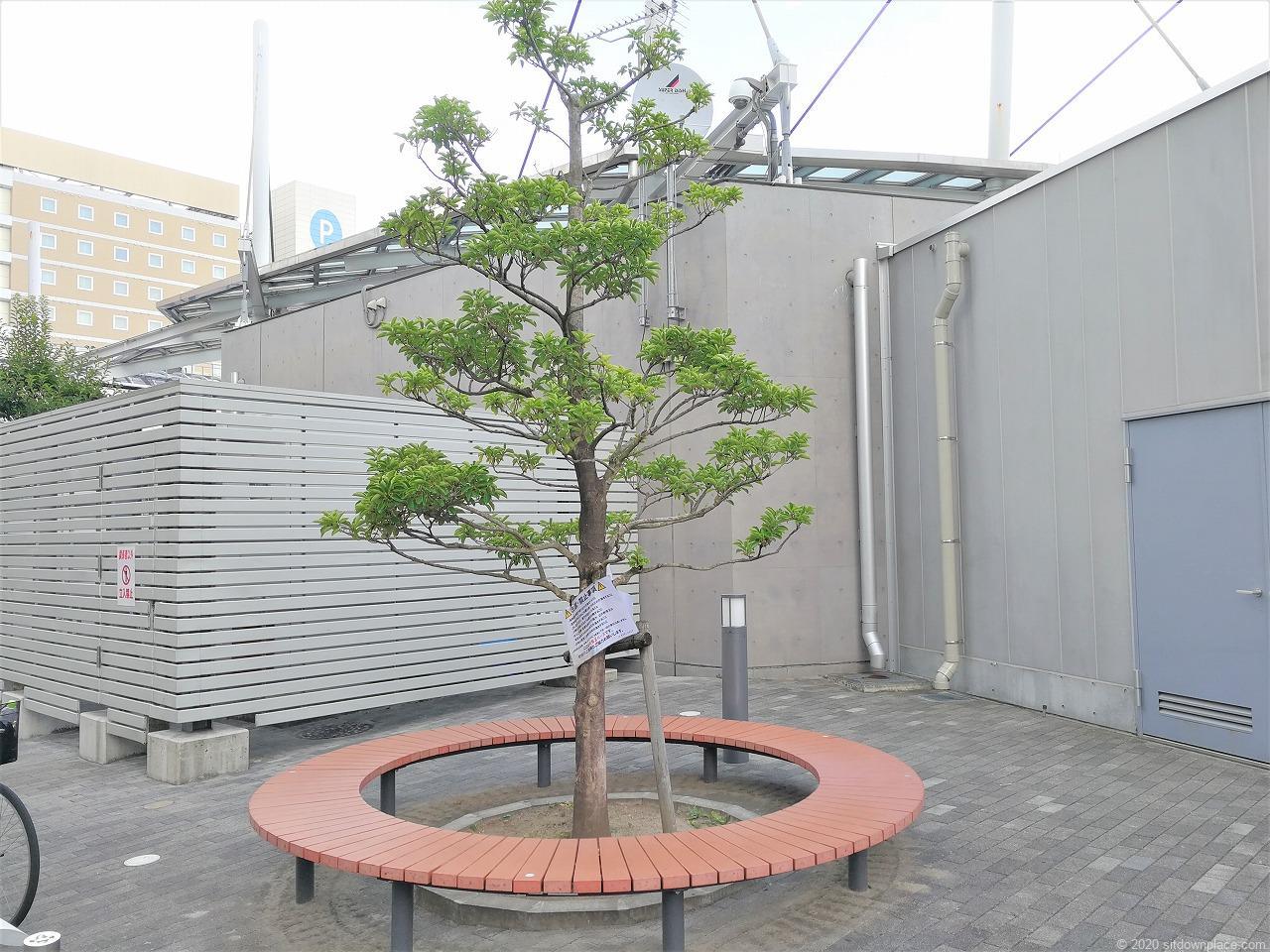 東武宇都宮駅 オリオンスクエアの休憩場所