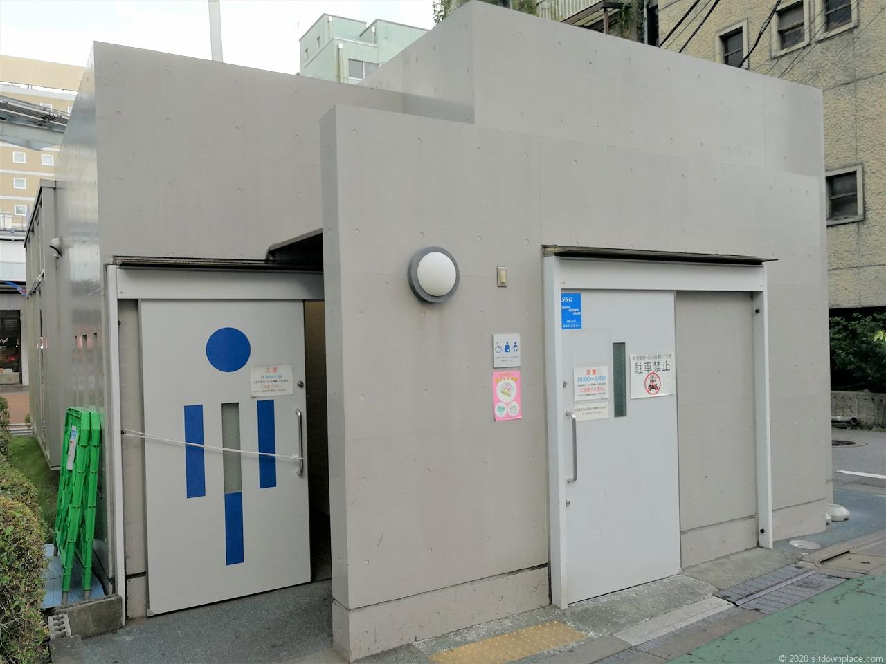 東武宇都宮駅 オリオンスクエアのお手洗い