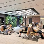 【東京駅構内】スクエア ゼロの休憩場所