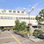 【宇都宮駅】西口ペデストリアンデッキの休憩場所