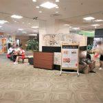 【宇都宮駅】 パセオ2F ホテルメッツ側エスカレーター付近の休憩場所