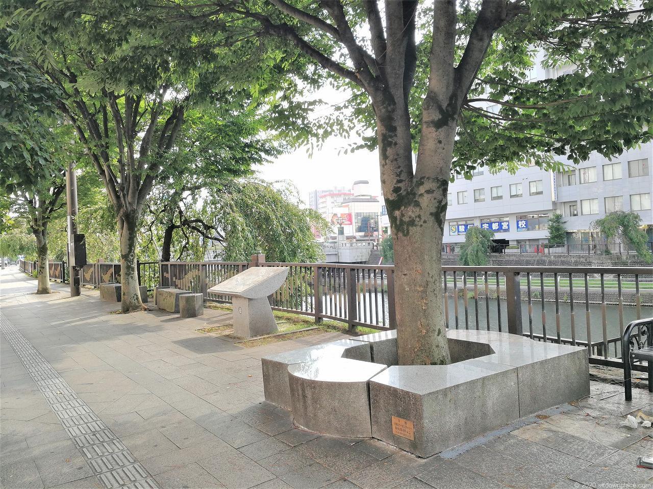 宇都宮駅 田川