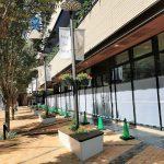 【武蔵小杉駅】コスギサードアベニュー 商店街側の休憩場所