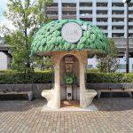 【武蔵小杉駅】中原区役所前の休憩場所