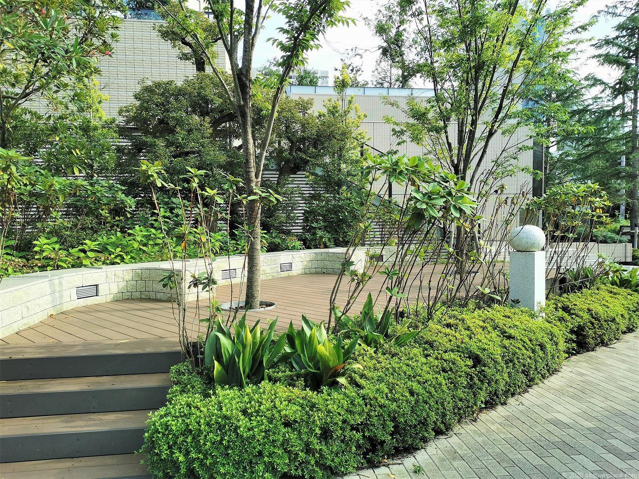 武蔵小杉駅 パークシティ ザ・ガーデン 屋上広場の外観1