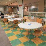 【東武宇都宮駅】表参道スクエア 6F カフェエリアの休憩場所