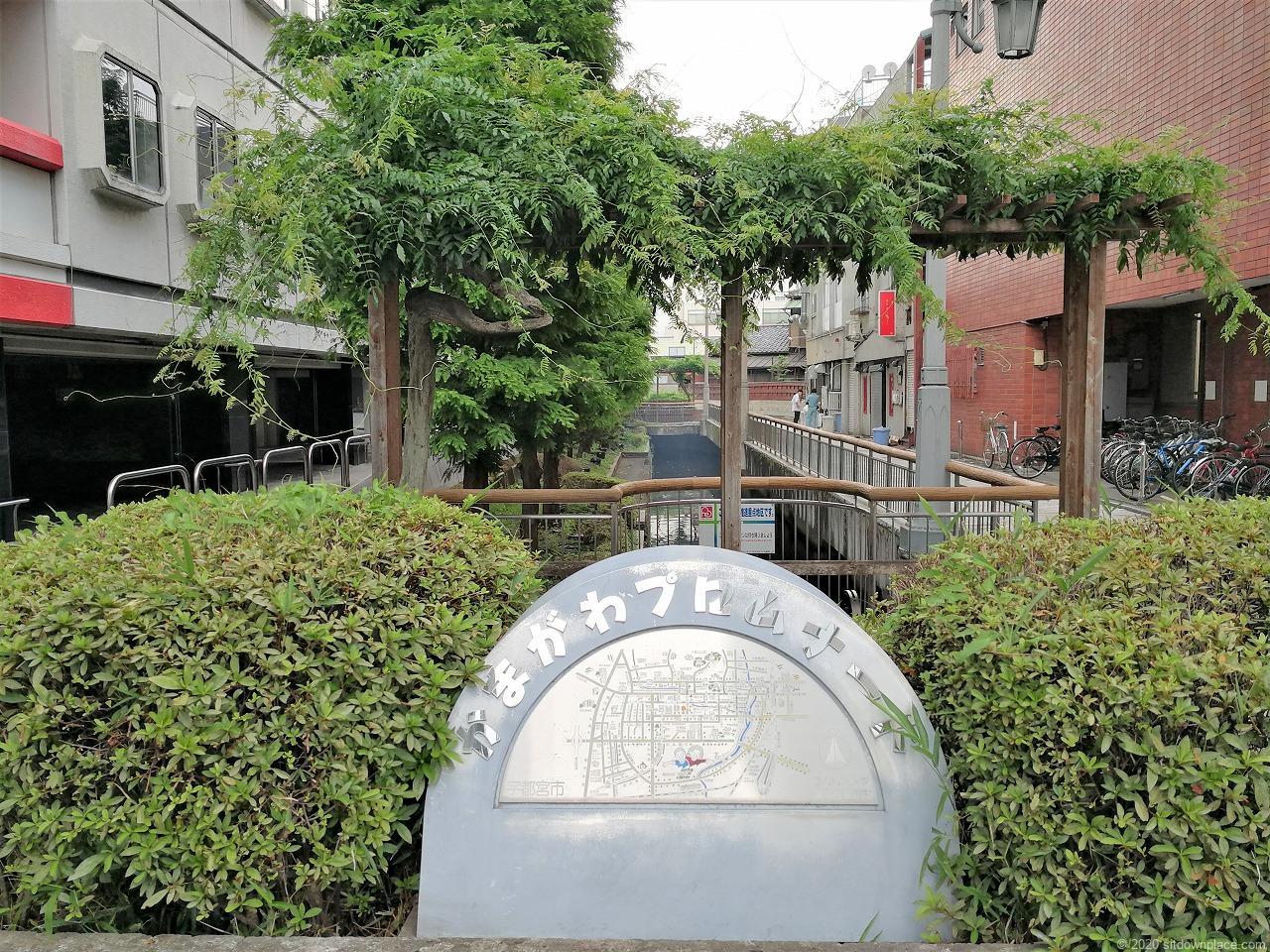 東武宇都宮駅 釜川プロムナード 大通り付外観近の外観