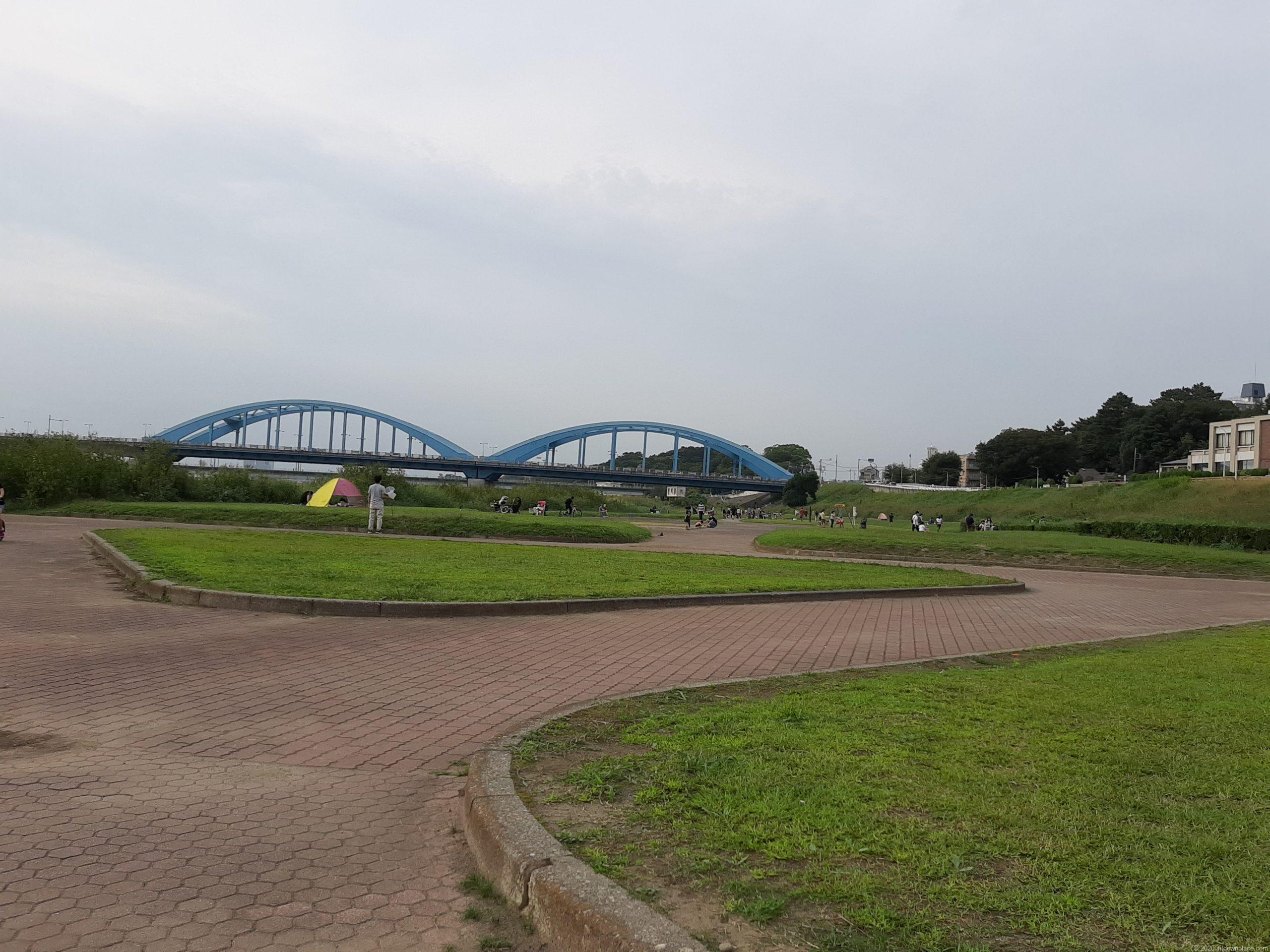 多摩川丸子橋緑地