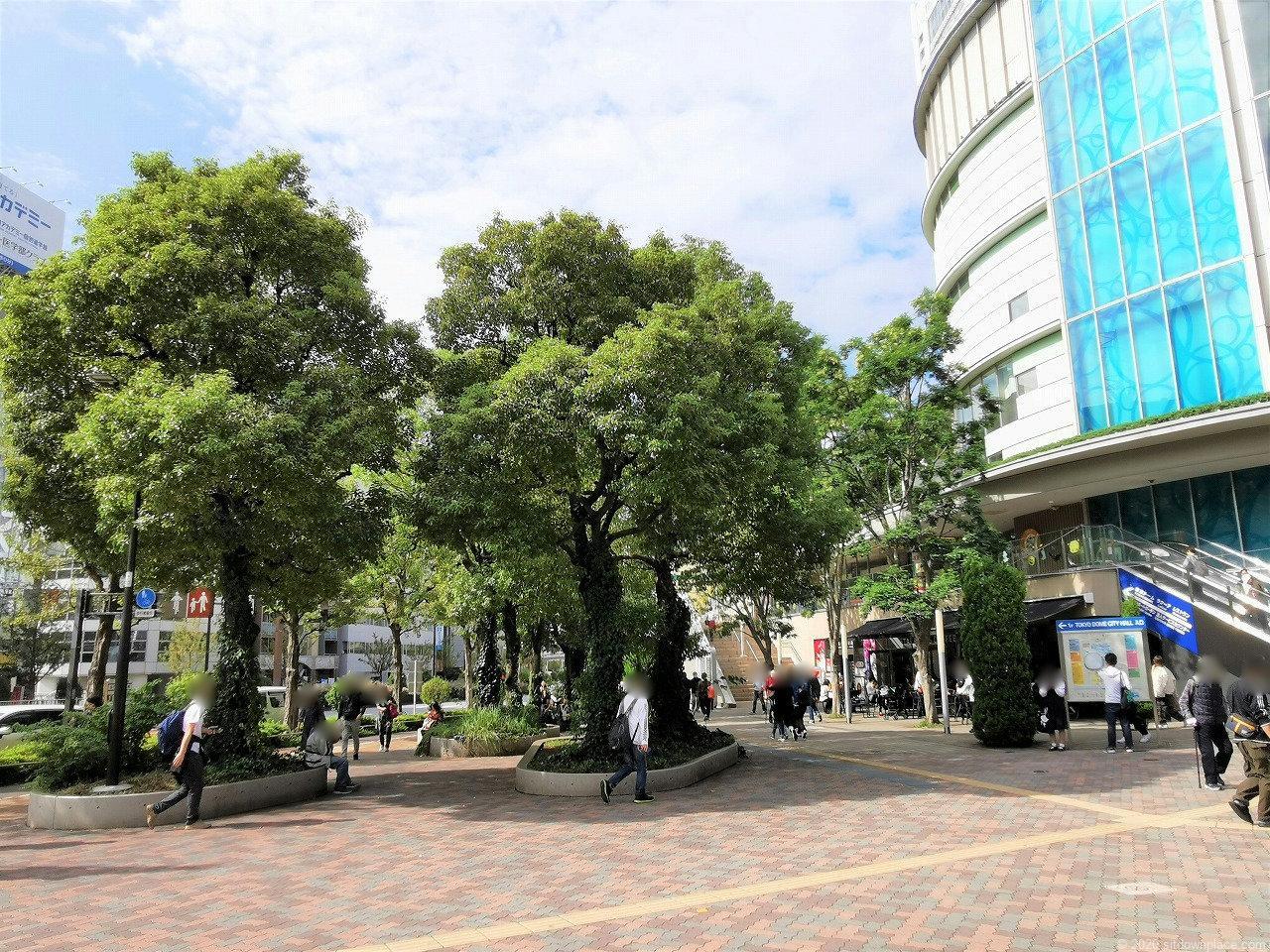 水道橋駅 東京ドームシティ ミーツポート前広場の外観2