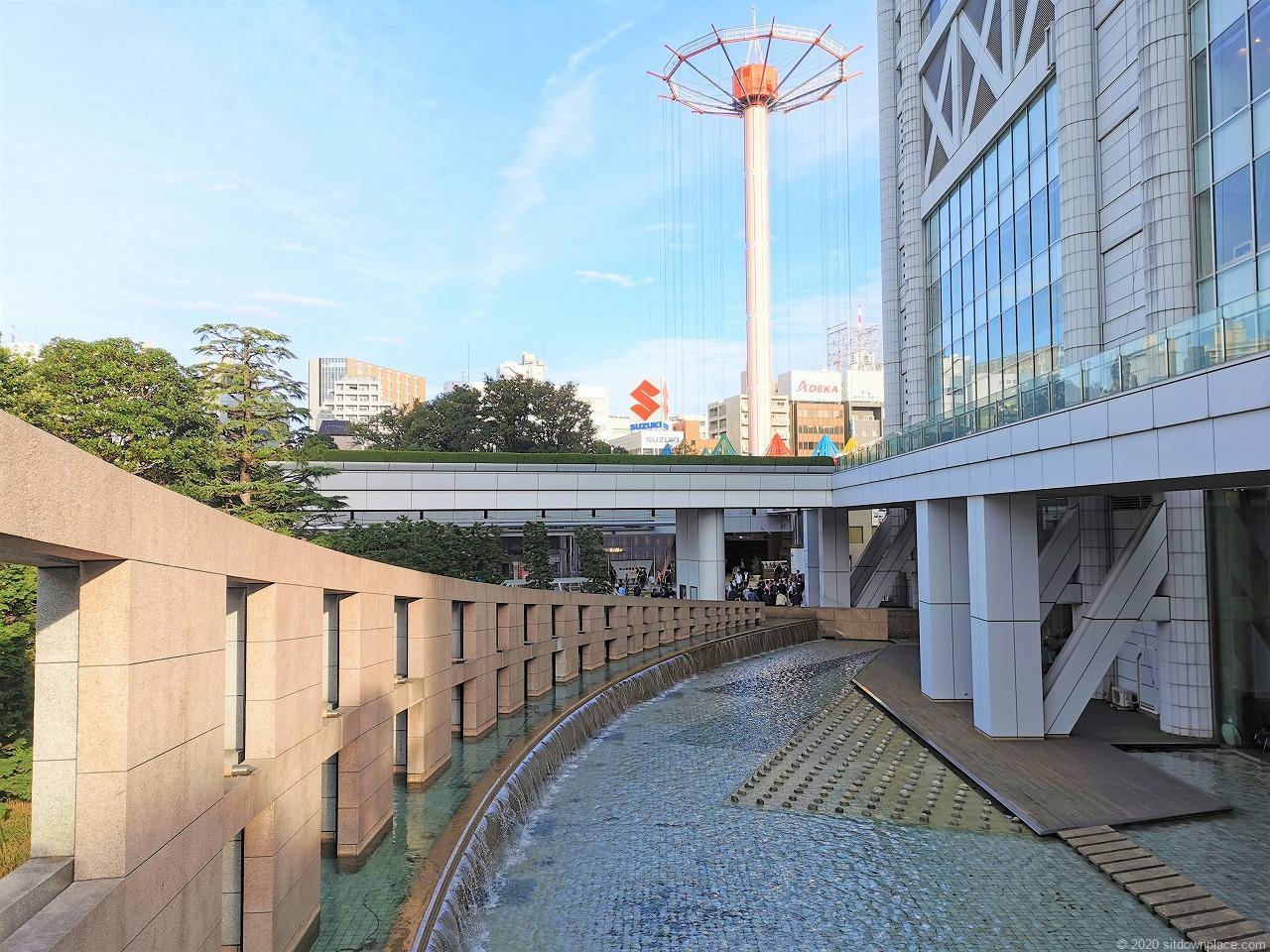 水道橋駅 東京ドームシティ プリズムホール前の外観