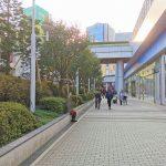 【水道橋駅】東京ドームシティ プリズムホール前の休憩場所
