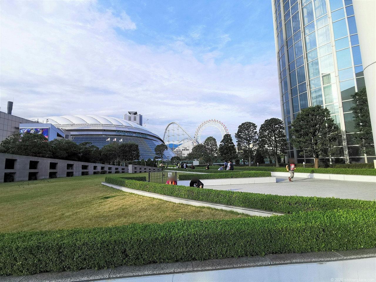 水道橋駅 東京ドームホテル周辺の外観