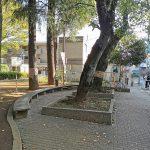 【祖師ヶ谷大蔵駅】ふれあい遊歩道の休憩場所