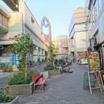 【祖師ヶ谷大蔵駅】南口駅前高架付近の休憩場所