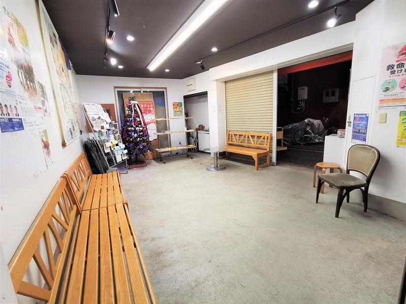 豪徳寺駅 豪徳寺商店街 お休み処の休憩場所2