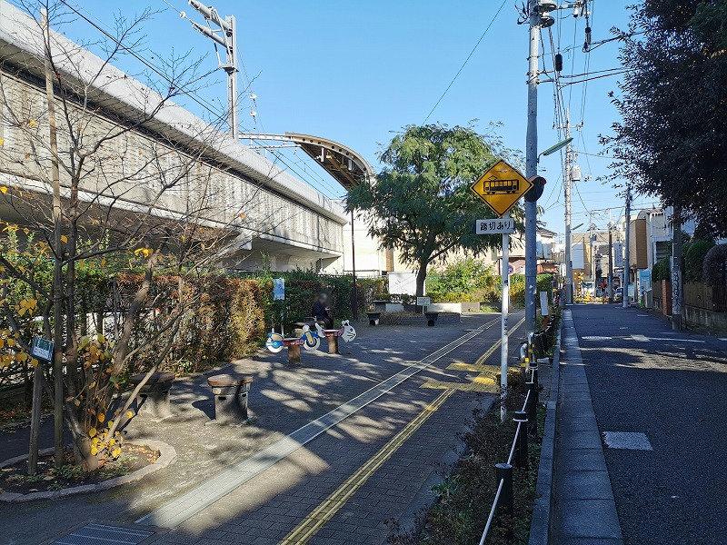 豪徳寺駅 宮坂ねむの木公園の外観