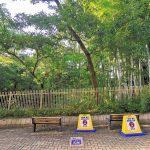 【狛江駅】北口ふれあい側道の休憩場所