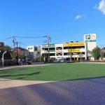 【狛江駅】メビウスえきまえ広場の休憩場所