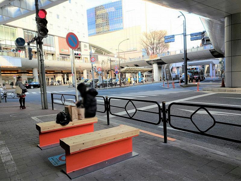 立川駅 南口ロータリー周辺の休憩場所2