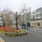 【千歳船橋駅】南口タクシー乗り場付近の休憩場所