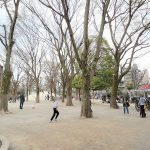 【神楽坂駅】白銀公園の休憩場所