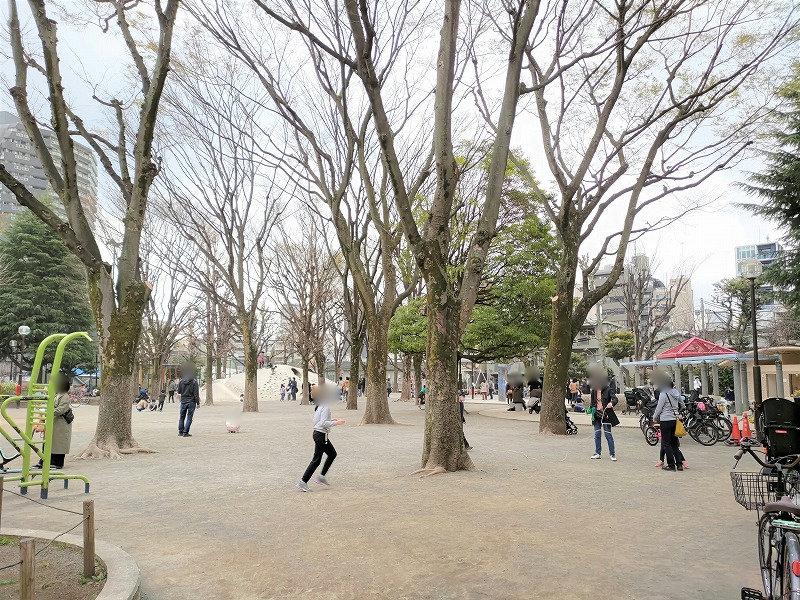 神楽坂駅 白銀公園のあそび場3