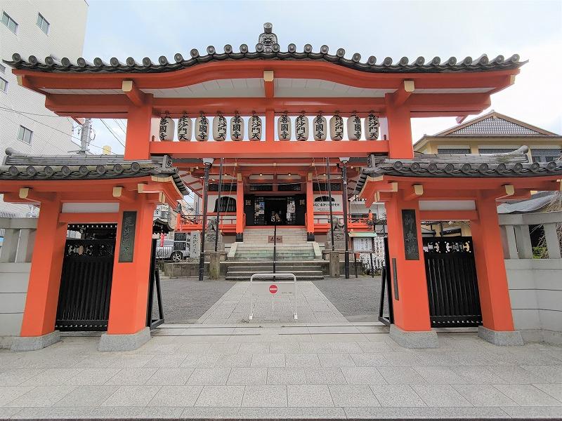 神楽坂駅 善国寺 毘沙門児童遊園のすぐ近くの善国寺