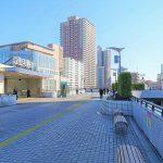 【川口駅】西口駅前 ペデストリアンデッキの休憩場所