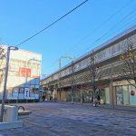 【経堂駅】テラスガーデン東口ビル前の休憩場所