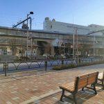 【経堂駅】ユリの木通り沿いの休憩場所