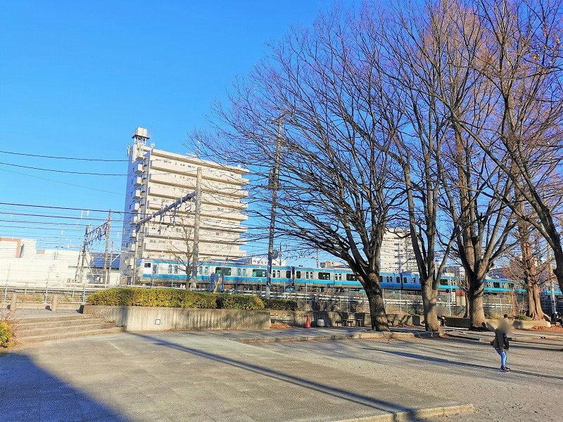 南浦和駅 水深公園の外観