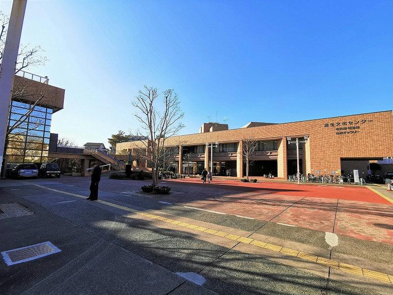 新百合ヶ丘駅 麻生区役所付近の休憩場所外観