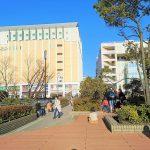 【新百合ヶ丘駅】ペデストリアンデッキの休憩場所