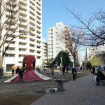 【恵比寿駅】恵比寿東公園の休憩場所
