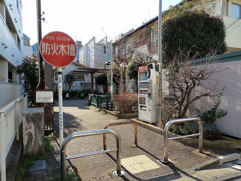 恵比寿駅 東三丁目児童遊園地の外観
