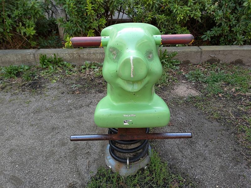 恵比寿駅 東三丁目児童遊園地の遊具