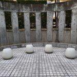 【恵比寿駅】渋谷川 あいおいニッセイビル前の休憩場所