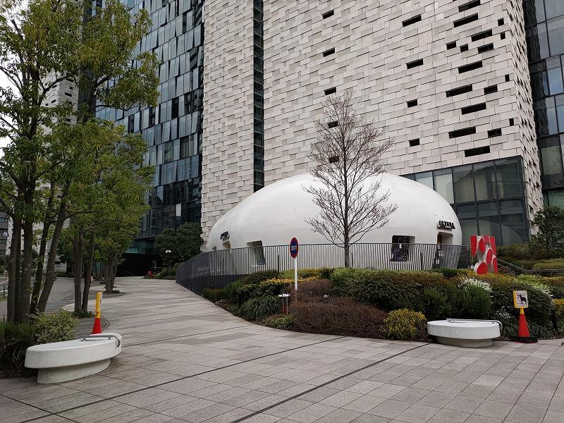 東新宿駅 イーストサイドスクエア 文化センター前のおしゃれカフェARTNIA