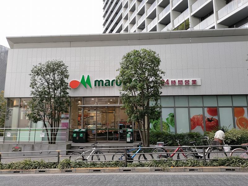 東新宿駅 マルエツ前の外観