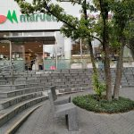 【東新宿駅】マルエツ前の休憩場所