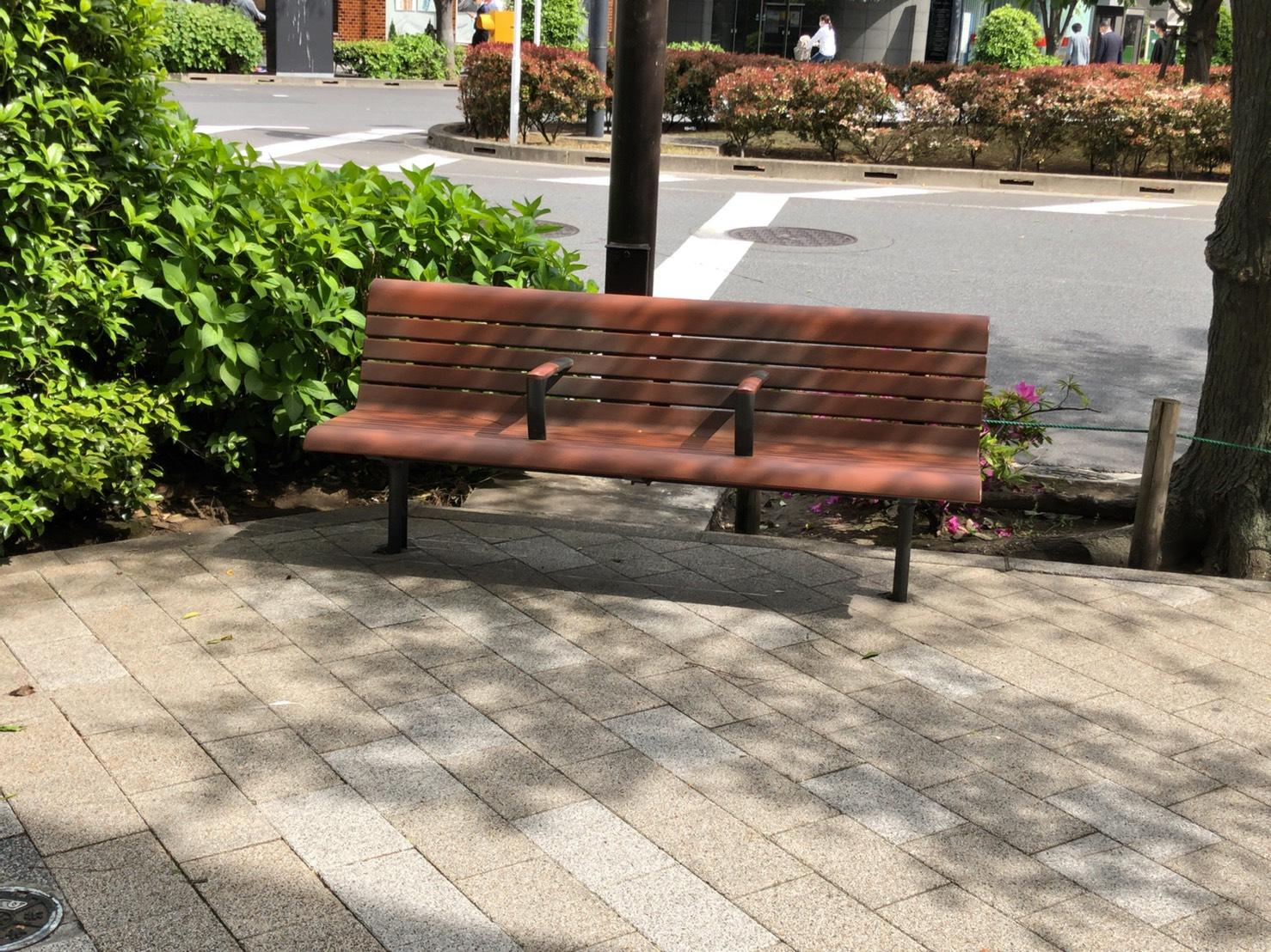 【東日本橋駅】東日本橋交差点 休憩場所3