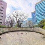 【品川駅】リバージュ品川 広場の休憩場所
