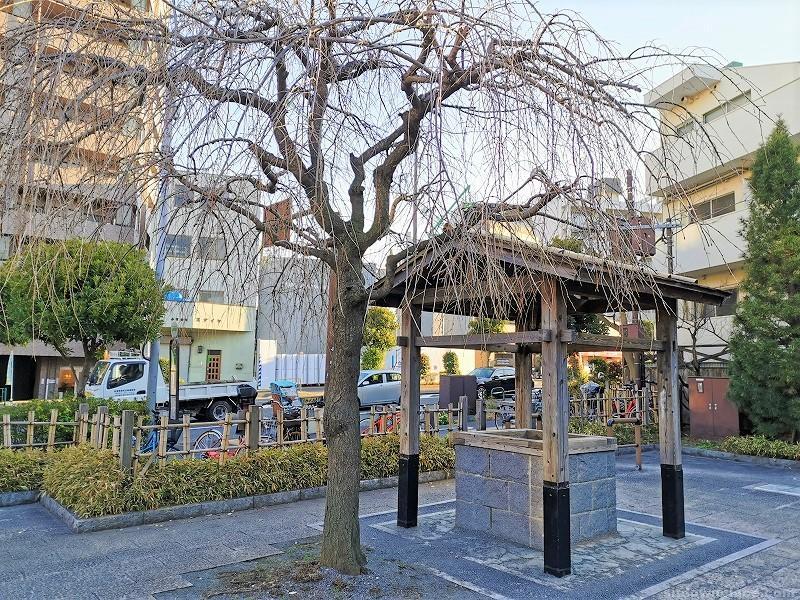 新馬場駅聖蹟公園の休憩場所その6