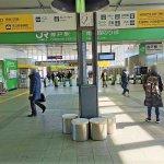 【登戸駅】JR線改札前の休憩場所