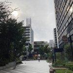 【江坂駅】タリーズコーヒーとなりの休憩場所